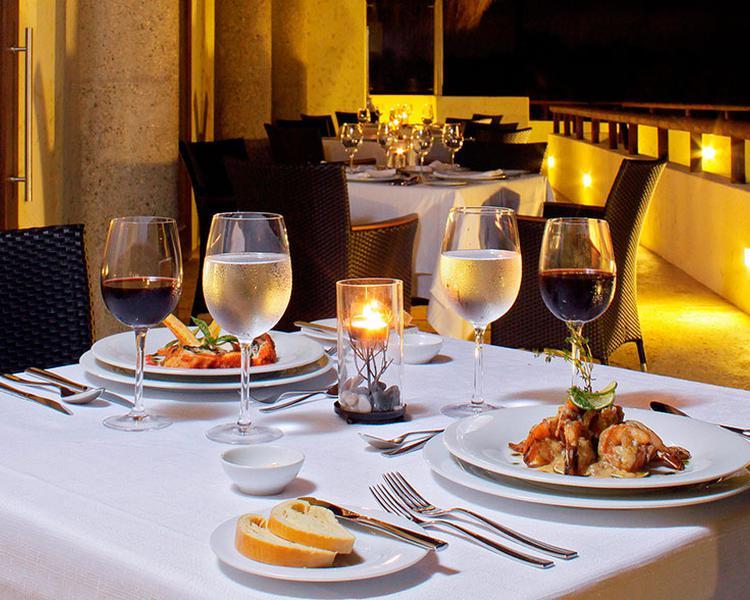 CENA Hotel ESTELAR Grand Playa Manzanillo